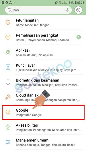 Cara Logout Google Gmail di HP Android