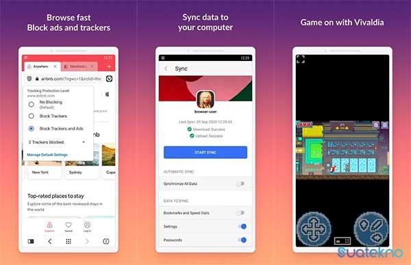 Vivaldi Browser - Aplikasi Browser Tercepat dan Terbaik di Android