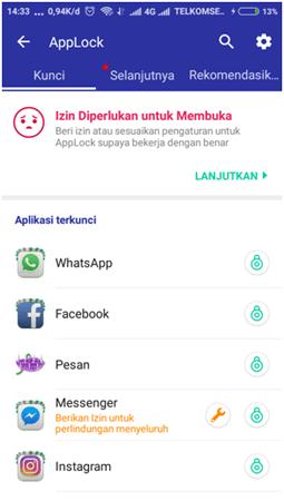 Cara Mengunci Aplikasi Android Menggunakan CM Security