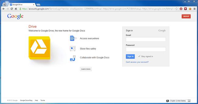 Cara private file di Google Drive