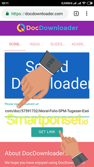 Cara Download File PDF/Word Scribd Gratis di Android