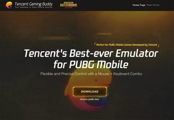 Download Emulator PUBG Mobile Resmi Versi PC