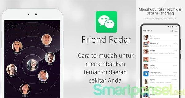 4. WeChat - Aplikasi Cari Teman Sekitar di HP Android & iPhone