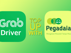 Cara Top Up Saldo Grab di Pegadaian Loket