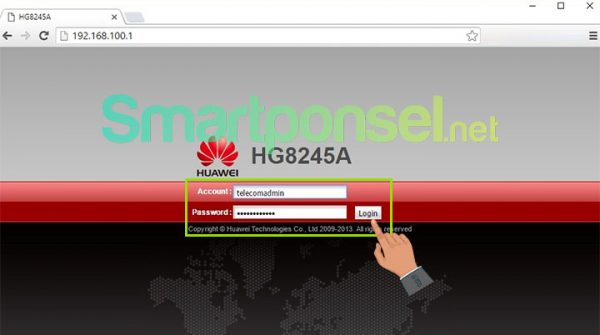 Cara Mengganti Password WiFi IndiHome Modem Huawei