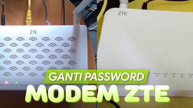 Cara Ganti Password WiFi IndiHome Modem ZTE di HP