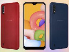 Samsung Galaxy A01 Harga dan Spesifikasi Terbaru 2020