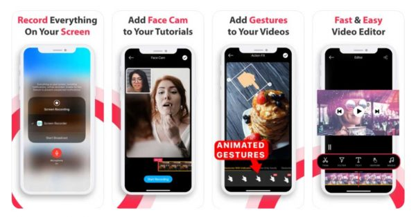 Record Now! Screen Recorder - Aplikasi Perekam Layar dengan Suara di iPhone