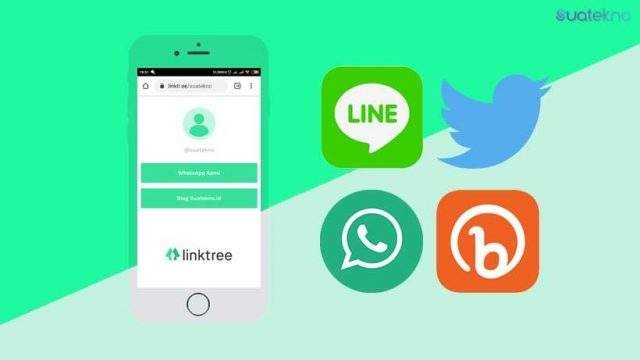 Cara Membuat Linktree WhatsApp, Line, Twitter & Bitly