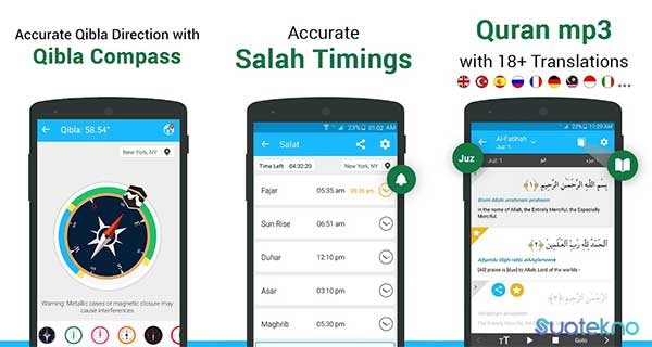 Qibla Connect Find Direction Prayer, Azan, Quran - Aplikasi Pencari Arah Kiblat Akurat di Android dan iOS