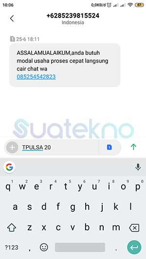 Cara Transfer Pulsa ke Sesama Telkomsel Lewat SMS