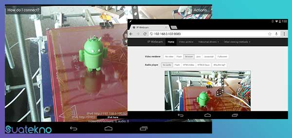 IP Webcam - Aplikasi Mengubah Kamera HP Android/iOS Menjadi Webcam PC/laptop