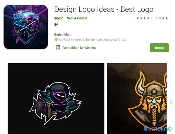 Design Logo Ideas - Best Logo - Aplikasi Pembuat Logo Gaming eSport di Android dan iOS