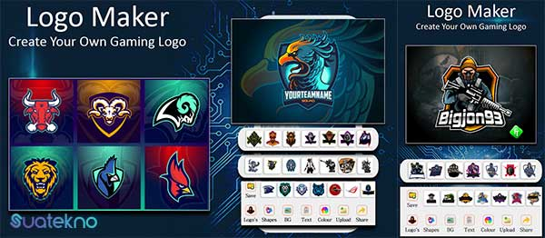 Logo Esport Maker | Gaming Logo Maker Esport - Aplikasi Pembuat Logo Gaming eSport di Android dan iOS