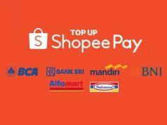 Cara Top Up ShopeePay Lewat Semua Bank, Alfamart, Indomaret