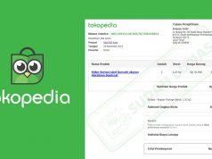 Cara Cetak dan Download Invoice atau Label Pengiriman Tokopedia Lewat HP Android / iOS