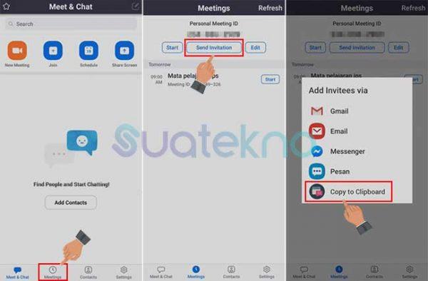 Cara Menggunakan Aplikasi Zoom Menjadi Host Meeting Zoom