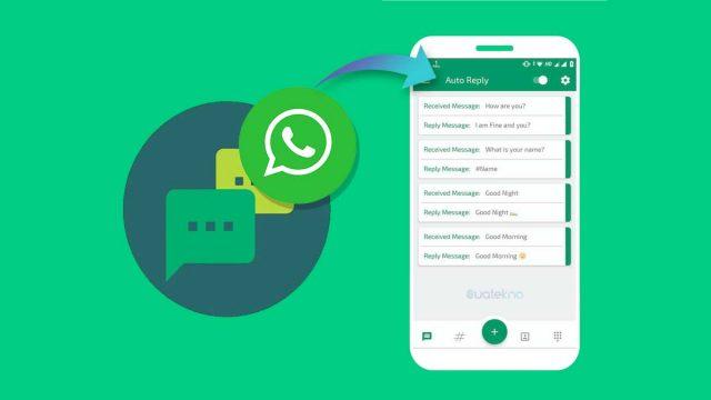 Cara Membuat Auto Reply WhatsApp Tanpa WA Business