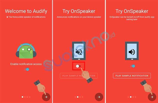 Cara Membuat Semua Notifikasi Aplikasi WhatsApp Bisa Berbicara Suara Google