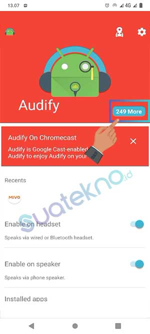 Cara Menggunakan Aplikasi Audify Notifications Reader