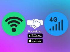 2 Cara Menggunakan WiFi dan Data Seluler Bersamaan di HP Android dan iPhone