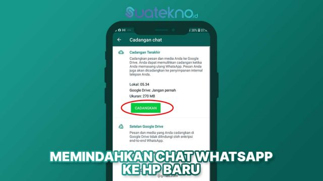 Cara Memindahkan Chat WhatsApp ke HP Baru dengan Nomor yang Sama