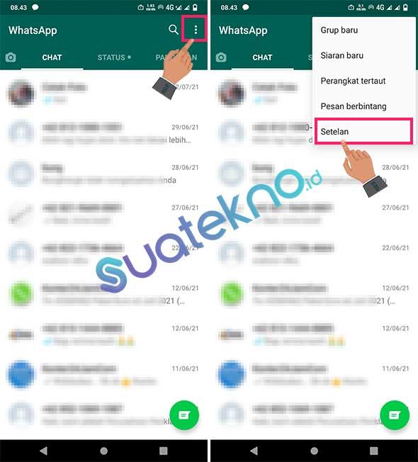 Cara Hemat Data Kuota WhatsApp di HP Android dan iOS